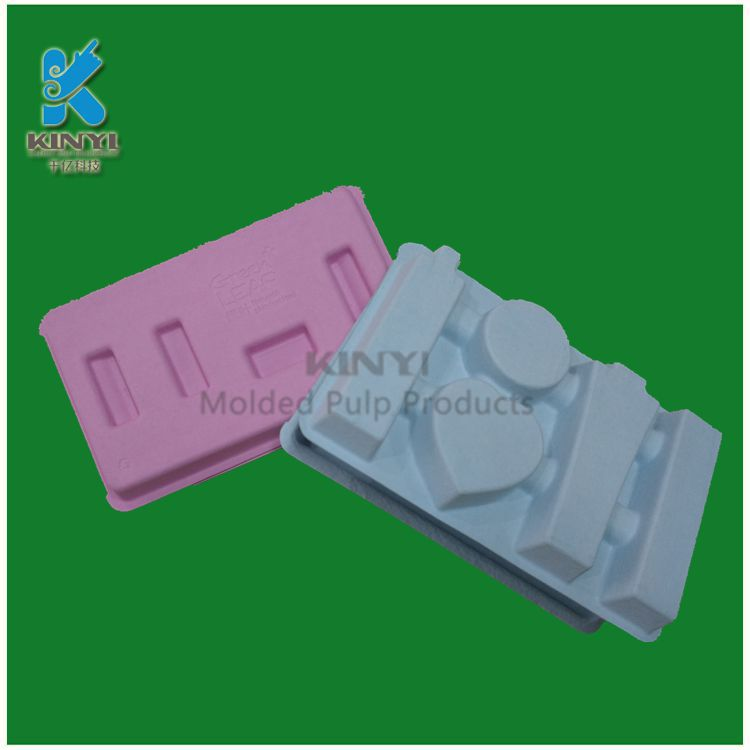 Customized molded fiber paper colorful packaging box suppliers