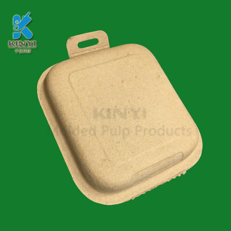 Eco Friendly Composable Molded Paper Pulp Packaging Boxes