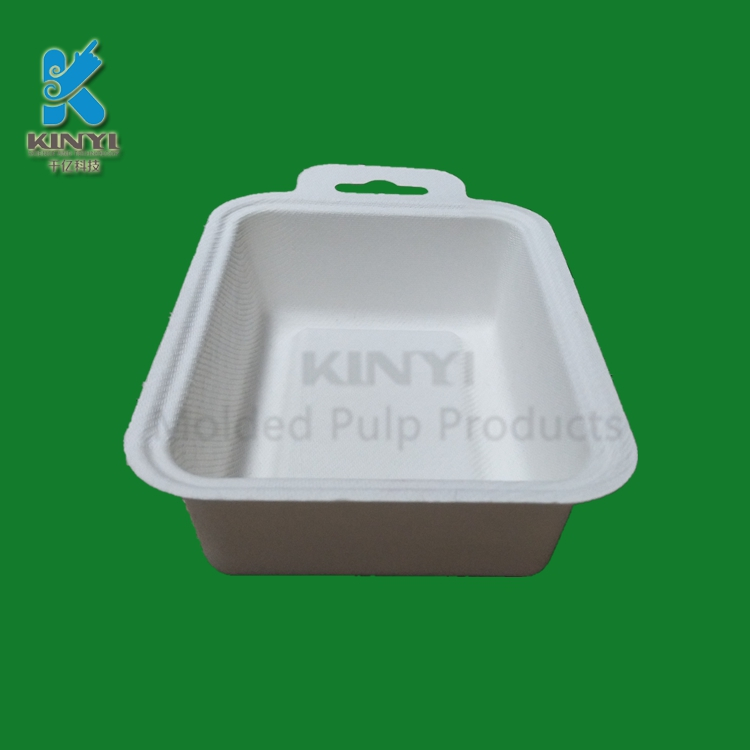 Biodegradable Compostable Molded Paper Pulp Box Packaging