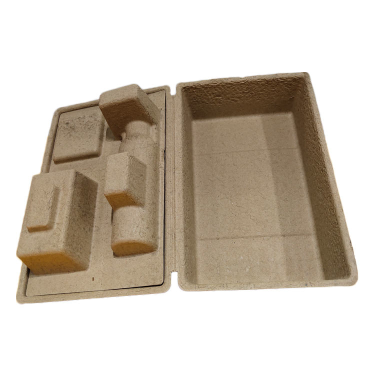 Eco-friendly Corrugated Paper Pulp Skincare Packaging Box