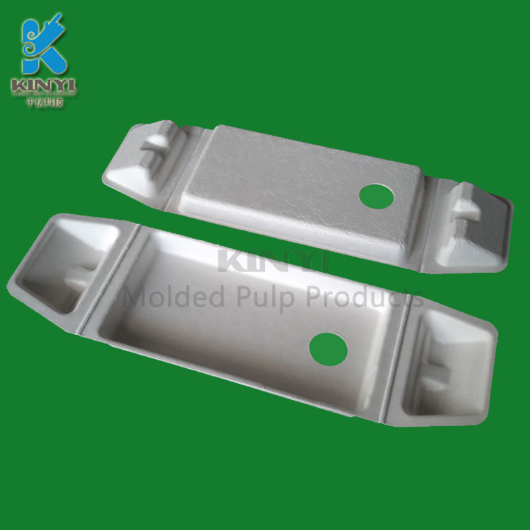 Biodegradable Custom Insert Trays for Mobile Phone LCD Packaging Box