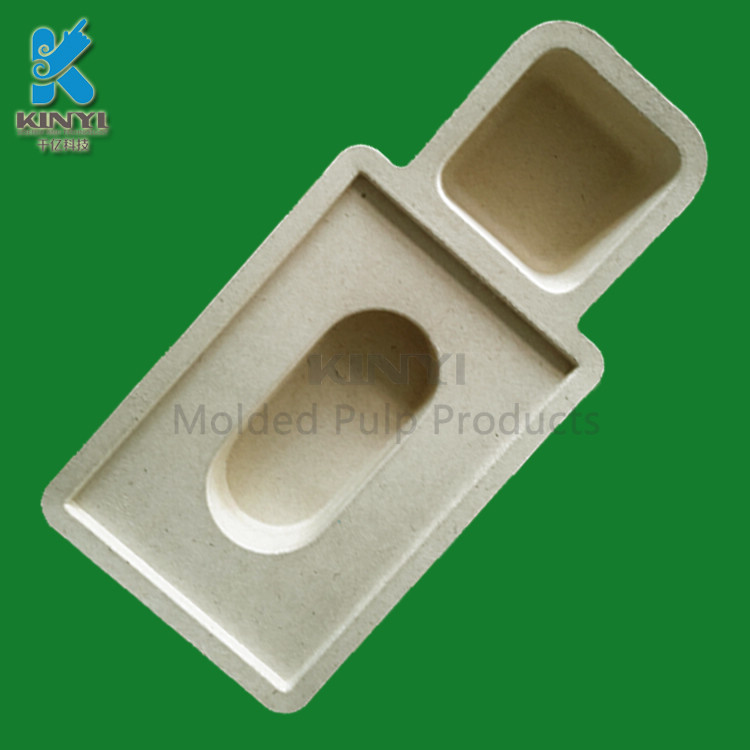 Customized Paper Pulp Packaging Tray for Electronics