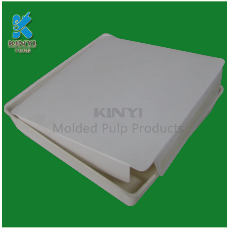 Disposable seismic resistance molded pulp box