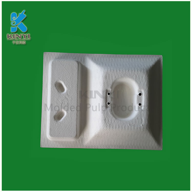 Environmentally nontoxic harmless bamboo pulp packaging