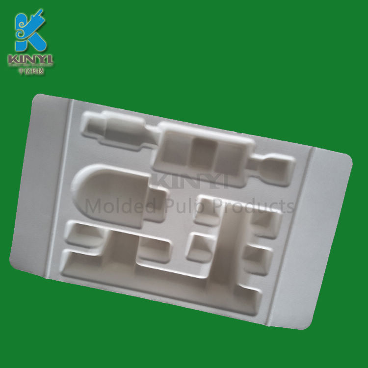 Customized Biodegradable compostable antistatic packaging trays