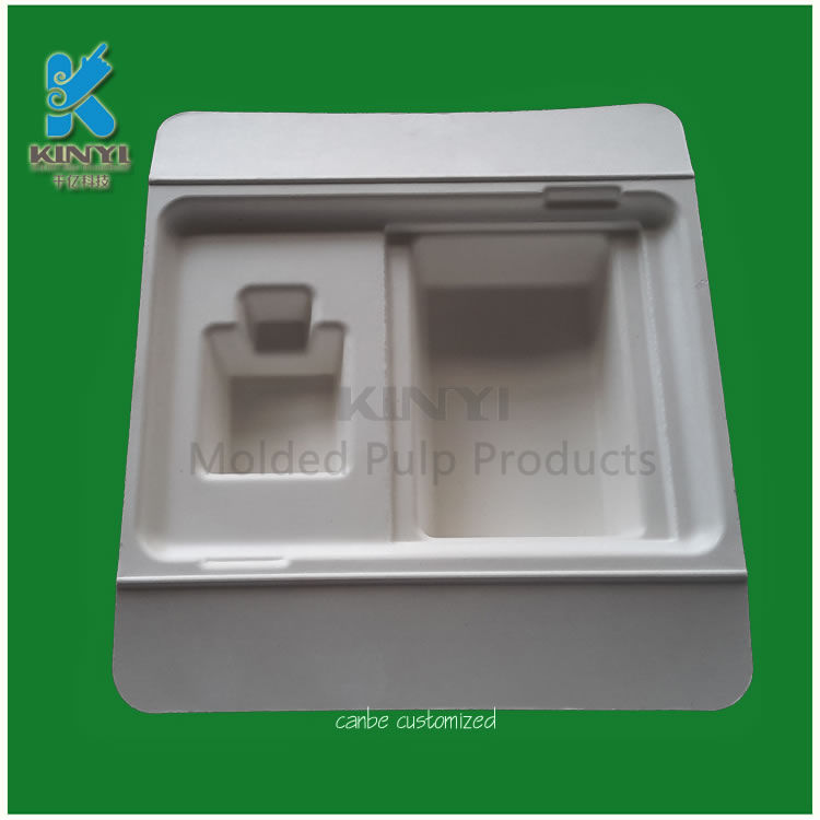 Mechanical Bleached bamboo pulp packaging tray