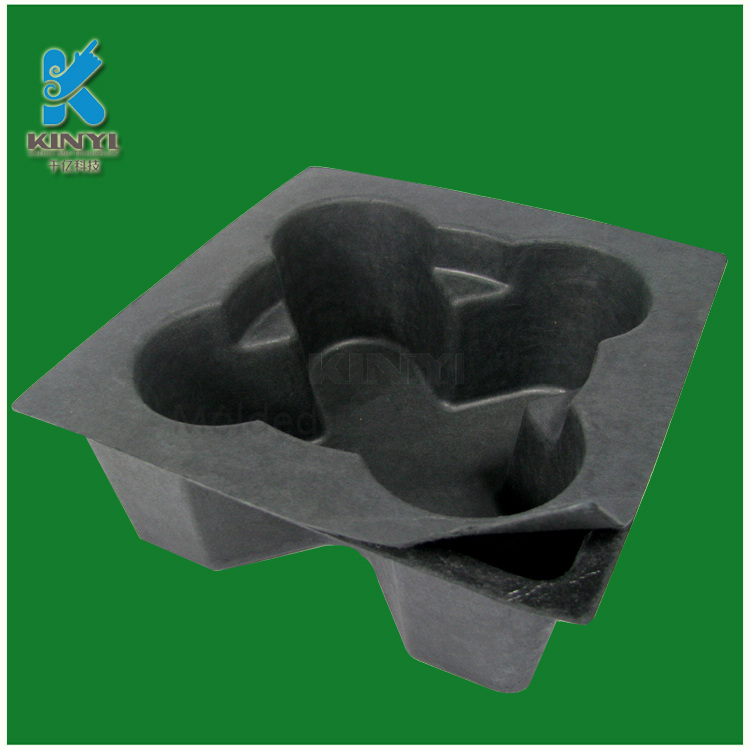 Biodegradable dissolving grade recyclable packaging trays