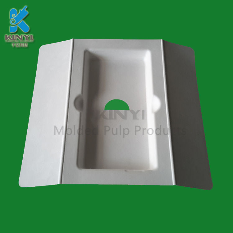 Anti-seismic protective mobile phone accessories paper packaging tray
