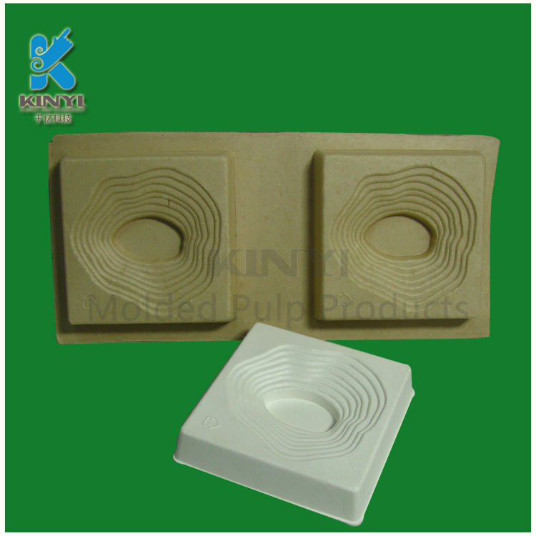 Biodegradable recycled paper packaging jewelry boxes