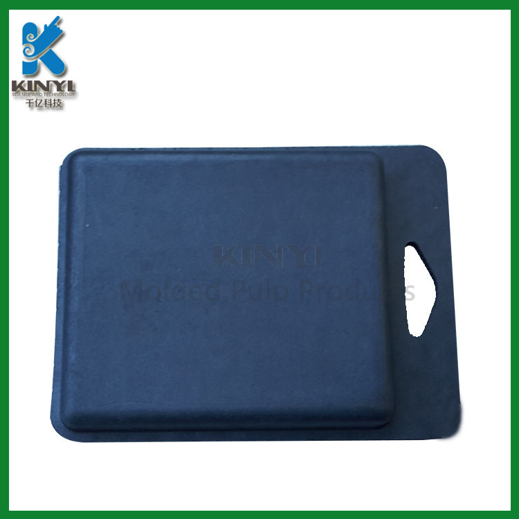 Biodegradable paper pulp tray, customized packaging box tray