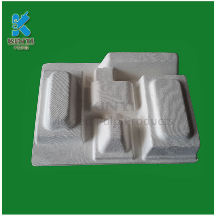 Eco friendly exquisite smooth sugarcane pulp packaging suppliers custom
