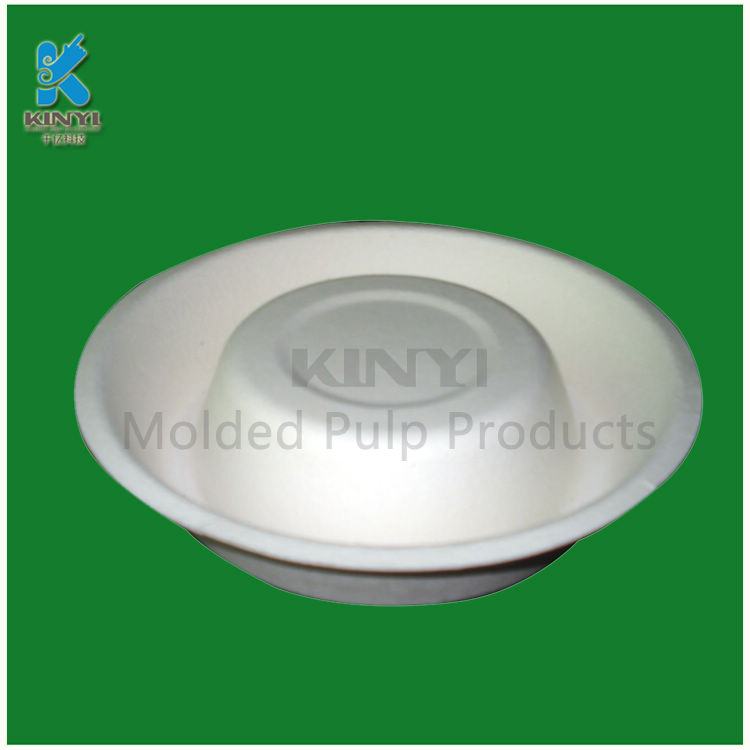 Eco-friendly molded pulp dog bowls customized