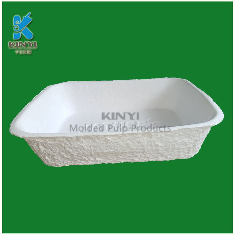 Disposable waterproof paper pulp dog litter box wholesale