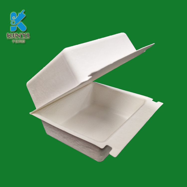 Custom molded paper pulp box p
