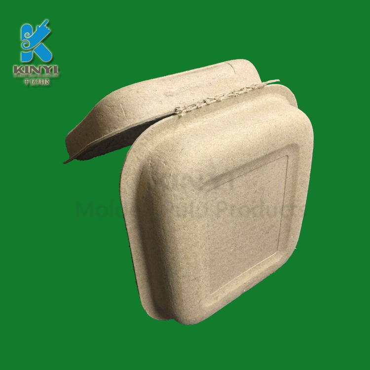 eco friendly molded pulp box packaging