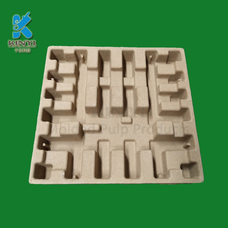 Recycled Corrugated Pulp Electronic Protective Packaging Tray
