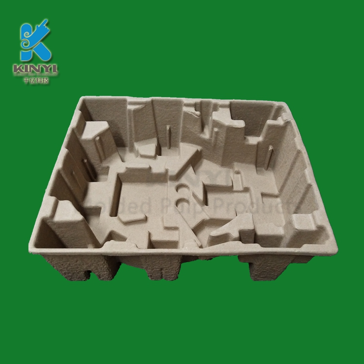 Eco Friendly Corrugated Paper Pulp Protective Packaging Box