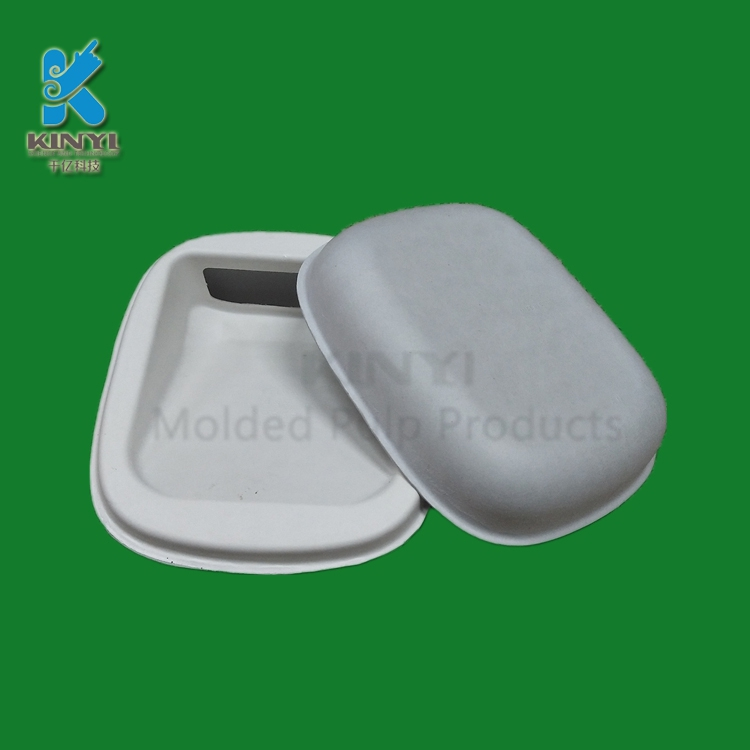 Biodegradable Molded Pulp Cosmetic Packaging Boxes